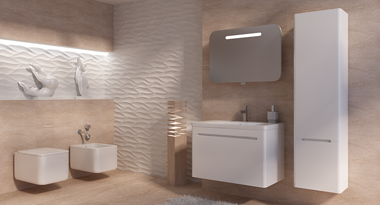 Серия мебели для ванной JUVENTA TIVOLI