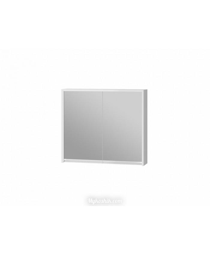 Зеркальный шкаф SvM-80 белый