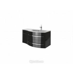 Тумба Vanessa Vndr-110 правая черная