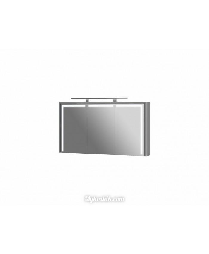 Зеркальный шкаф Levanto LvM-130 серый