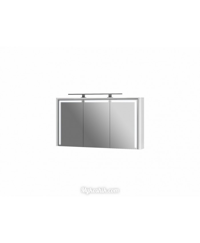 Зеркальный шкаф Levanto LvM-130 белый