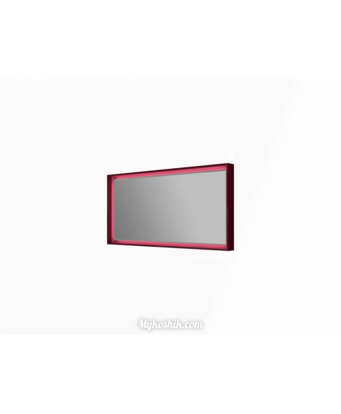 Зеркальная панель Torino ТrM-120 бордовая