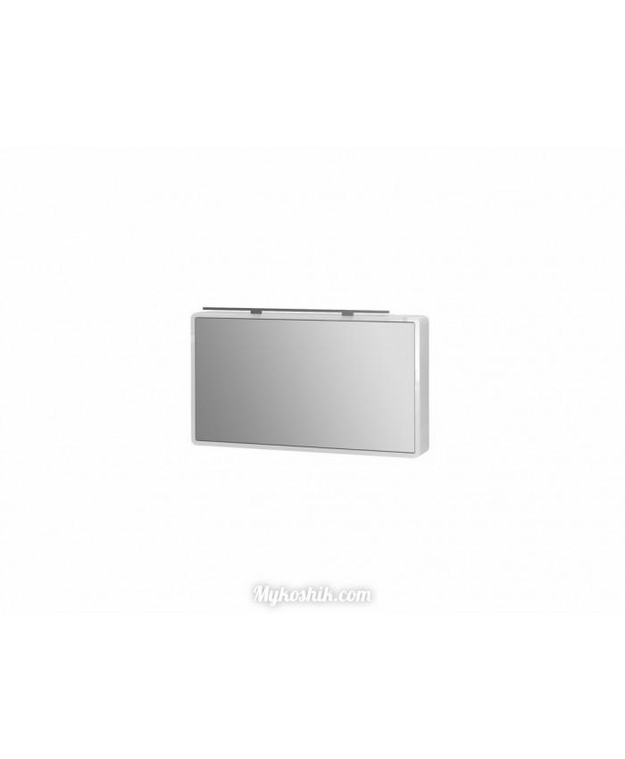Зеркальный шкаф Toscanа TsM-100 белый