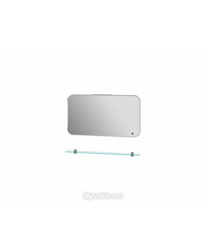 Зеркало Velluto VltM-100 с полкой