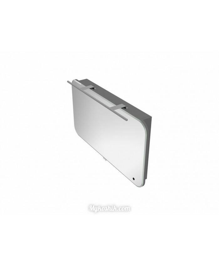 Зеркальный шкаф Velluto VltMC-100 серый