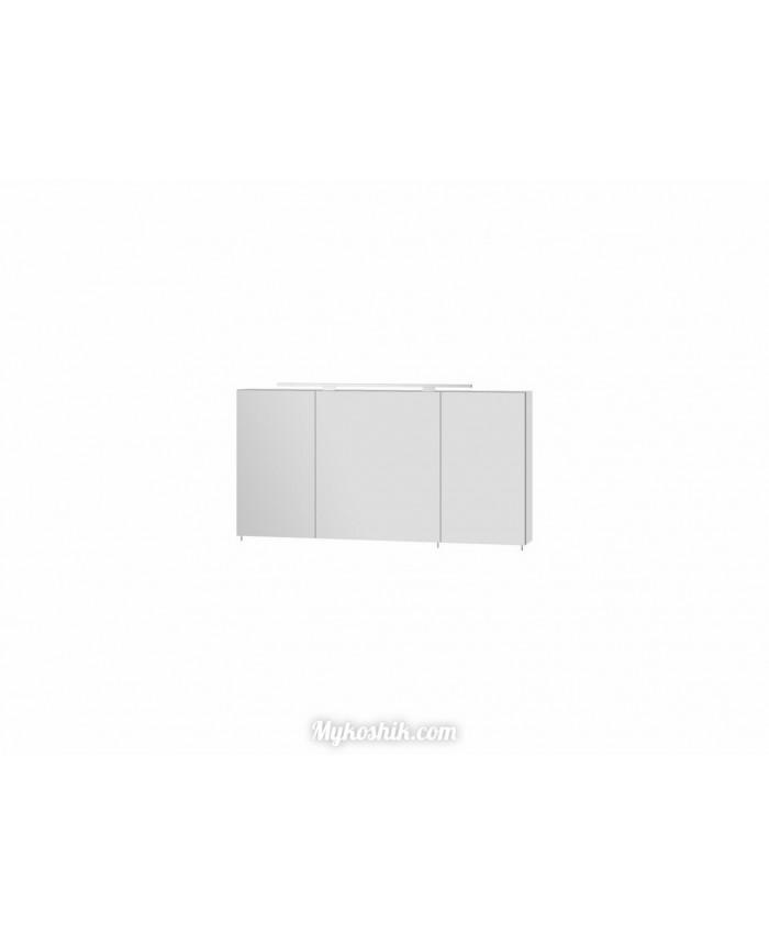 Зеркальный шкаф Vanessa VnM-120 белый