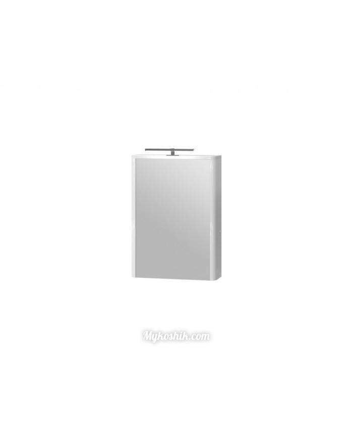Зеркальный шкаф Livorno LvrMC-50 белый