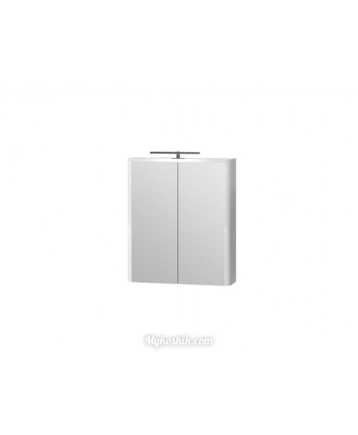 Зеркальный шкаф Livorno LvrMC-60 белый