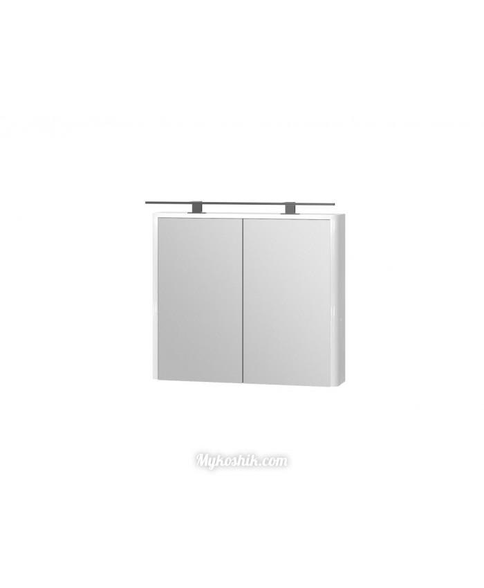 Зеркальный шкаф Livorno LvrMC-80 белый