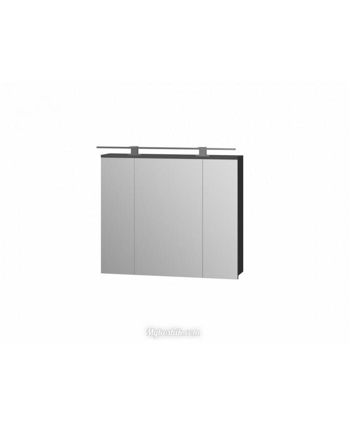Зеркальный шкаф Oscar OscMC-80 графит