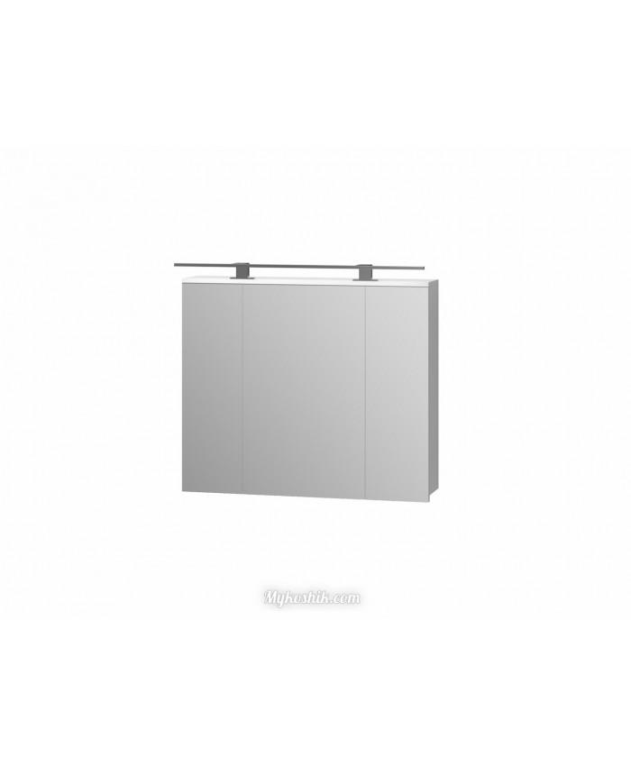 Зеркальный шкаф Oscar OscMC-80 белый