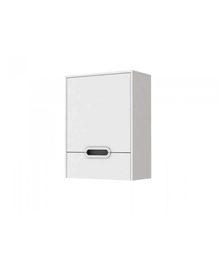 Шкаф навесной MONZA MnC-30 белый