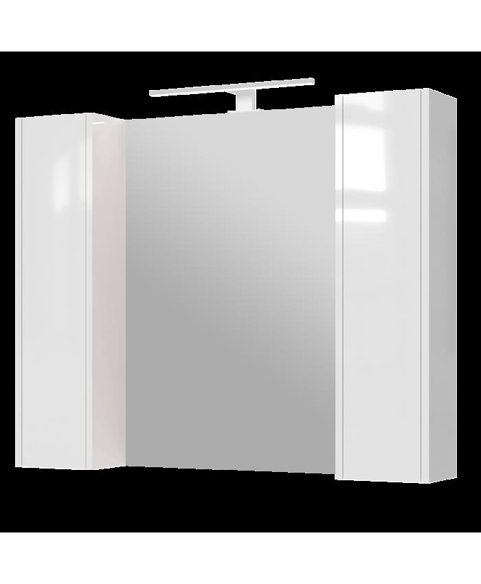 Зеркальный шкаф Bronx BrxMC-100 белый