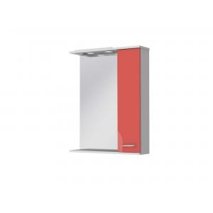 Зеркальный шкаф FRANCHESKA ФШНЗ 2-65 правый красный