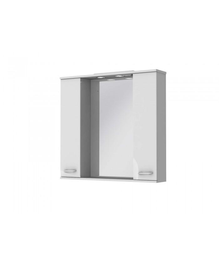 Зеркальный шкаф FRANCHESKA ФШНЗ 3-87 белый
