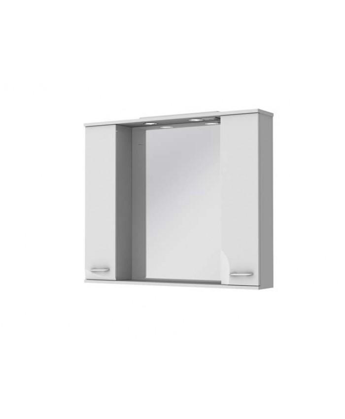 Зеркальный шкаф FRANCHESKA ФШНЗ 3-100 белый