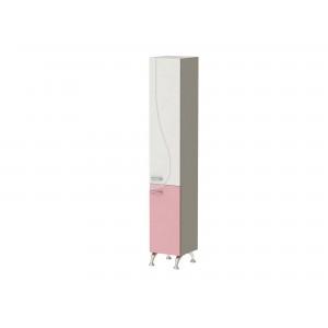 Шкаф-пенал FRANCHESKA ФШП1 правый розовый