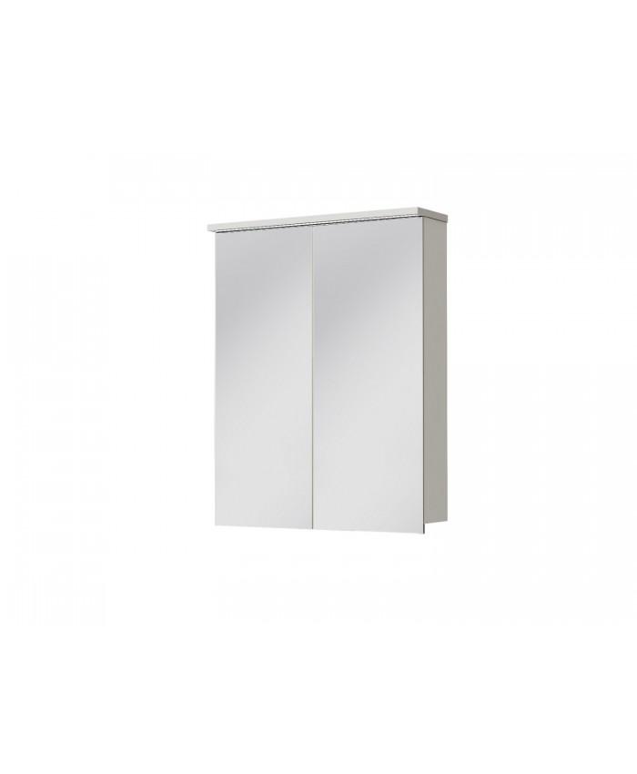 Зеркальный шкаф MONZA MnMC-60 белый