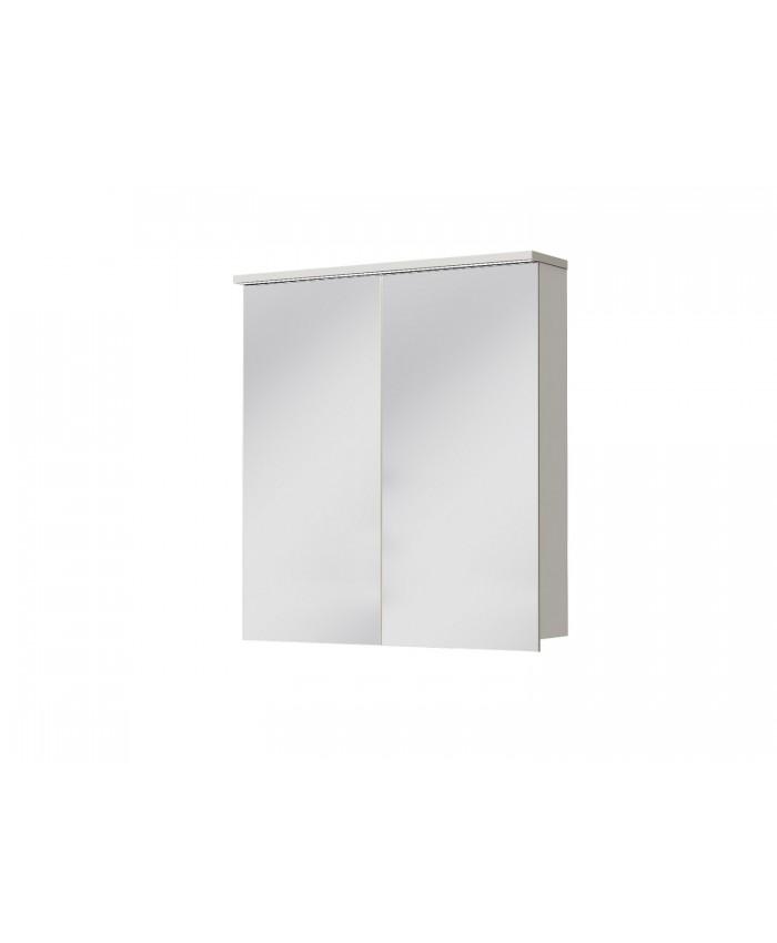 Зеркальный шкаф MONZA MnMC-70 белый