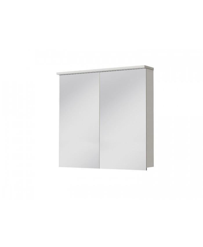 Зеркальный шкаф MONZA MnMC-80 белый