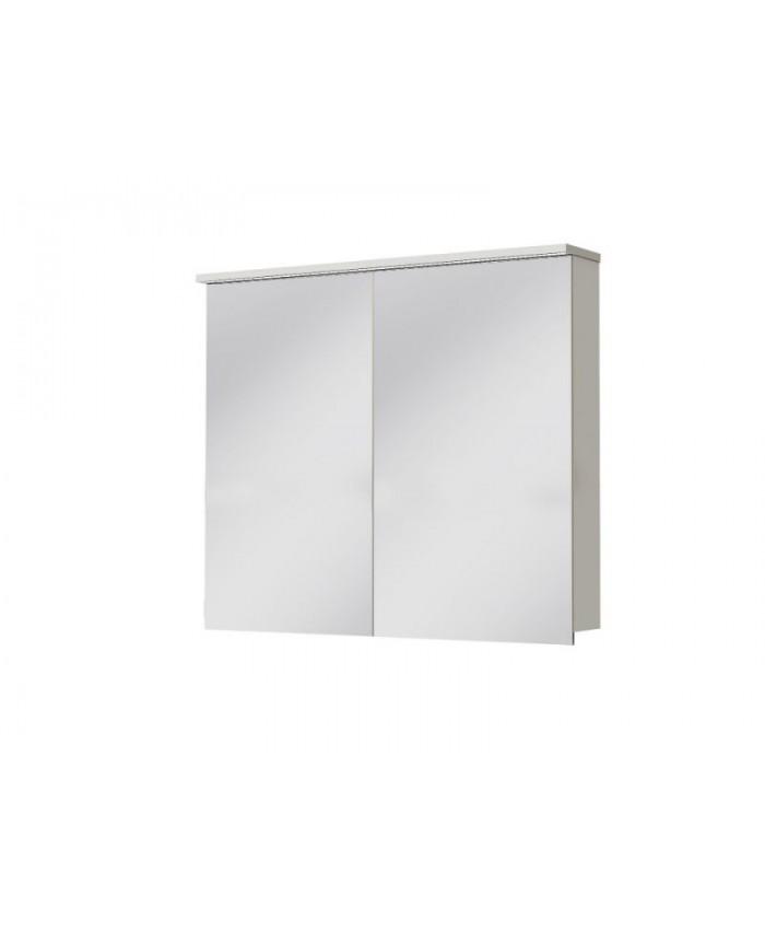 Зеркальный шкаф MONZA MnMC-90 белый