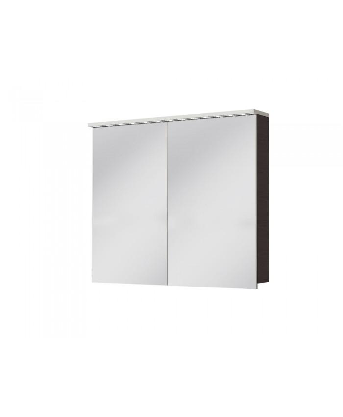 Зеркальный шкаф MONZA MnMC-100 венге